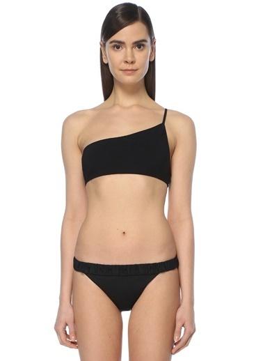 Bec & Bridge Tek Omuz Askılı Bikini Üstü Siyah